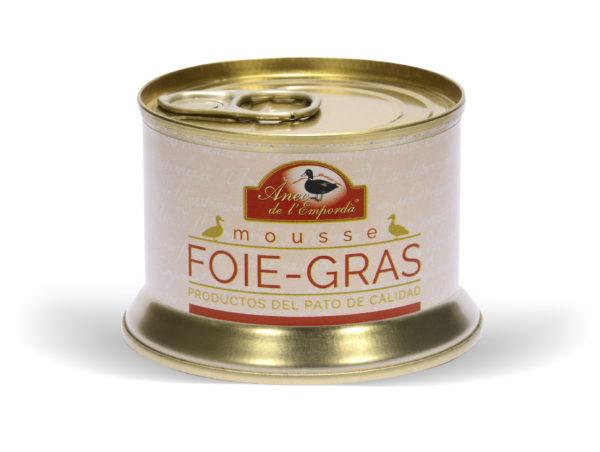 MOUSSE FOIE-GRAS Llauna 120 GR.